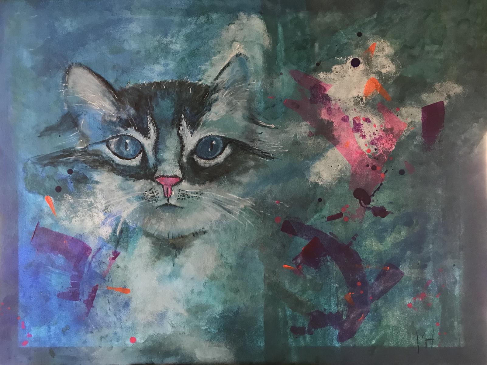 ART 2018 PoesBlauw